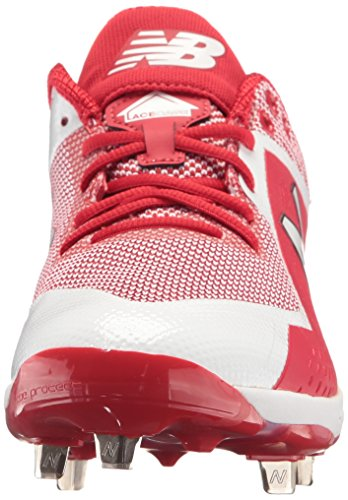 New Balance Men's L4040v4 Metal Baseball Shoe Red/White deals outlet great deals free shipping big discount deals for sale cheap official P4QLtZ