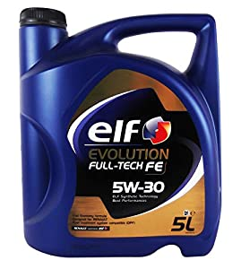 elf evolution full tech fe 5w 30 synthetic engine oil tot 194908 5 5 litre car. Black Bedroom Furniture Sets. Home Design Ideas