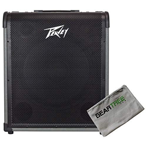 (Peavey 03616850 MAX 250 Bass Combo Amp w/Polish Cloth)
