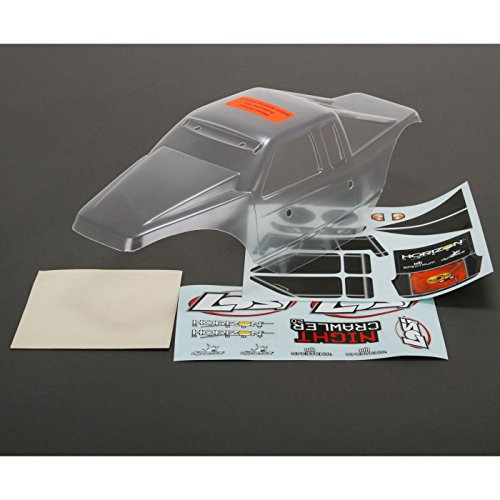 Losi Comp Crawler - Losi Body Set, Clear: Night Crawler 2.0, LOS230008