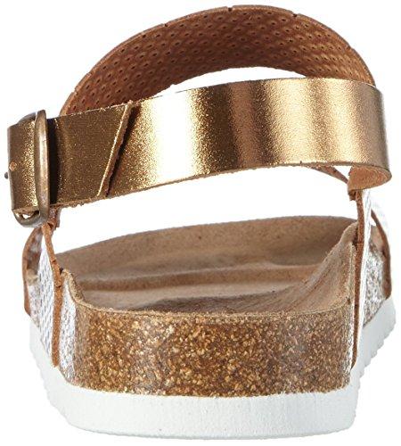 Vero Moda Vmsara Leather Sandal - Mules Mujer Marrón - Braun (Copper)