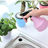 ZHAOXIAOYU 2 PC Plastic Spray Bottle Plant Mister Adjustable Nozzle Watering Can for Garden Indoor Plants Flower (Pink+Blue)