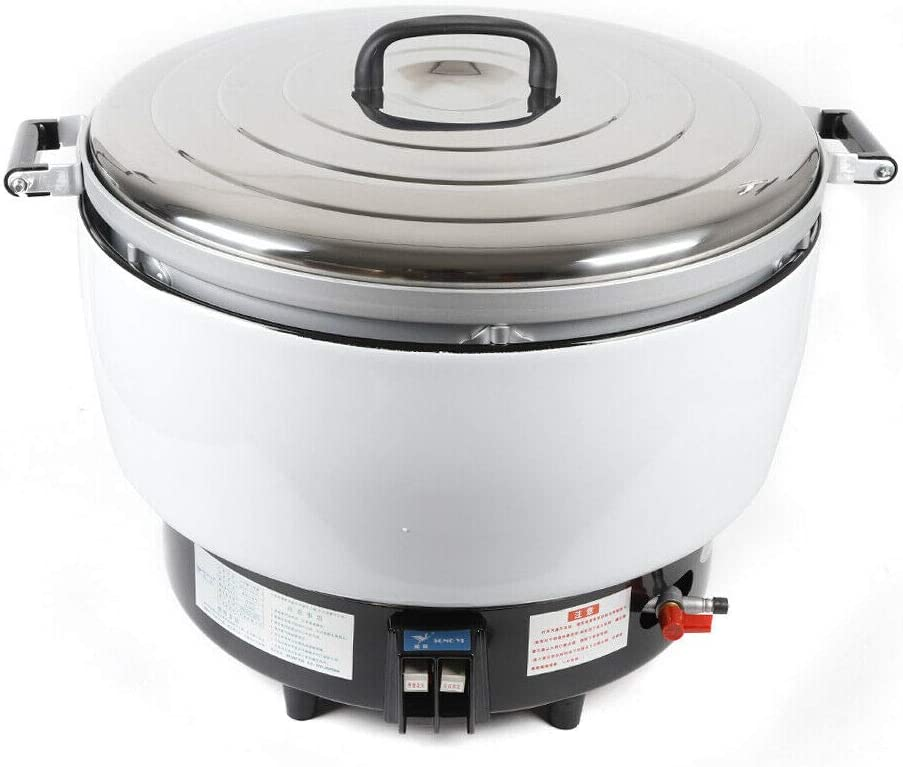 LiFuJunDong 23L Commercial Natral Gas Rice Cooker Restaurant 16KW 115 Cups For 12 people US PLUG