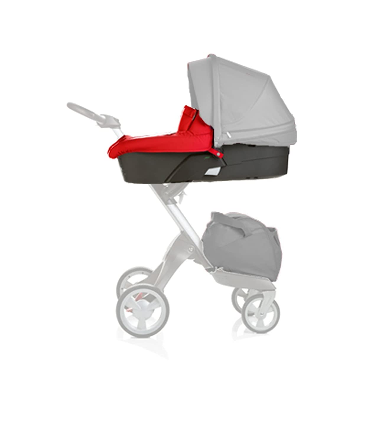 Stokke Xplory Carry Cot - Red 175503