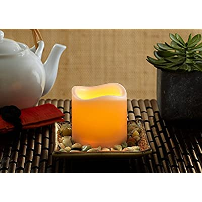 Flameless Candles Set of 4 (Ivory 3