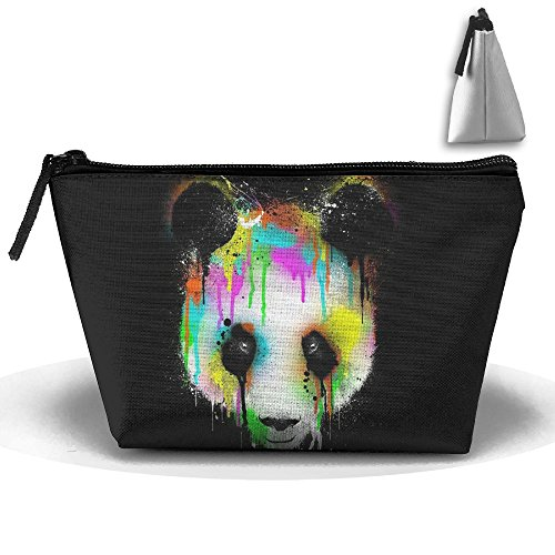 SESY Colored Panda Pouch Portable Storage Bag Clutch Hand Bag
