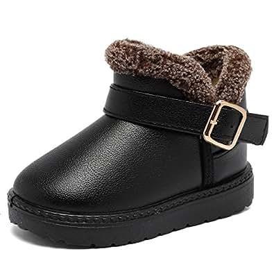 Amazon.com | CIOR Boys Toddler Snow Boots Waterproof Baby