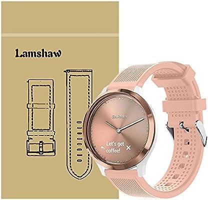 lamshaw Smartwatch bandas para Garmin vivomove HR, magnético ...