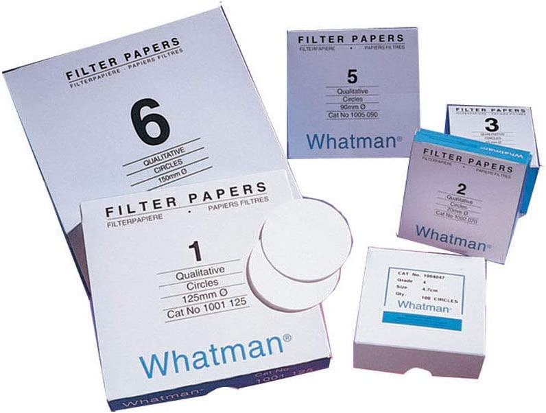 10 Packs of 100 15cm Eisco Labs Qualitative Filter Paper Pack of 1000