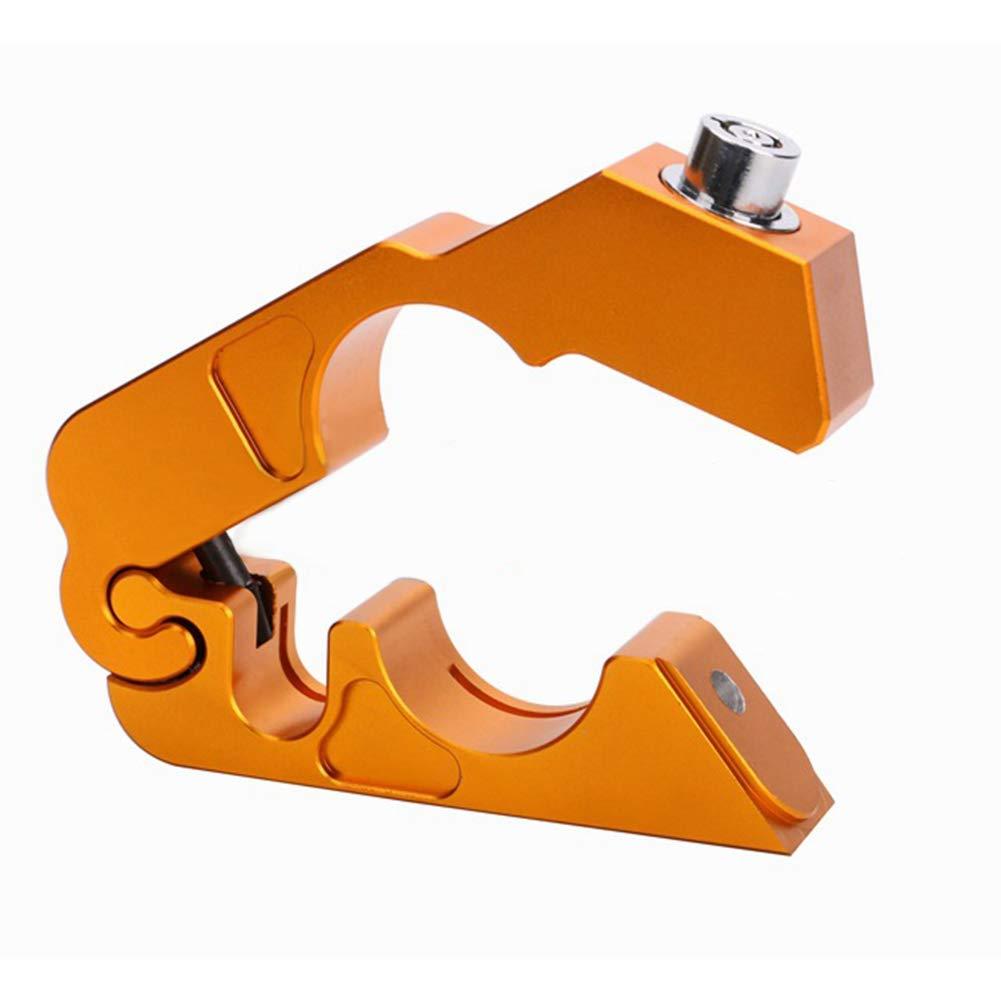 Red MeterMall Leva di blocco del manubrio della serratura del freno del manubrio del motociclo della CNC Protezione antifurto