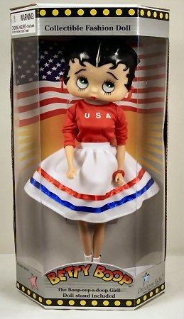 Betty Boop Doll: USA Betty ()