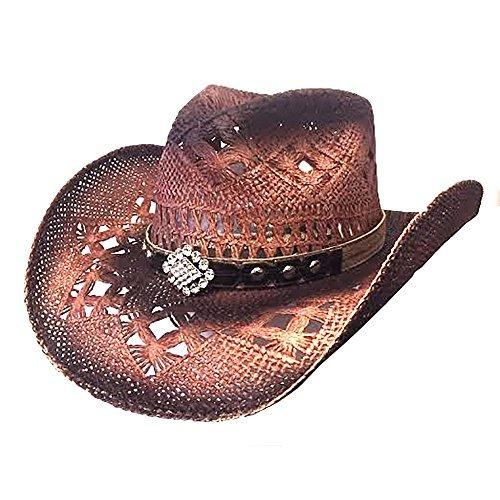 Bullhide Magnificent - Straw Cowgirl Hat (Medium)