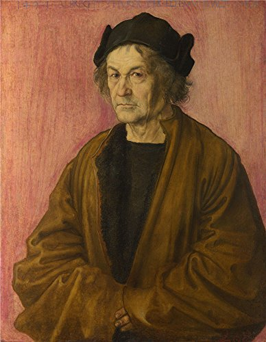 Oil Painting 'Albrecht Durer - The Painter' s Father,1497', 24 x 31 inch / 61 x 79 cm, on High Definition HD canvas prints is for Gifts And Bar, Nursery And Study Room Decoration, simply