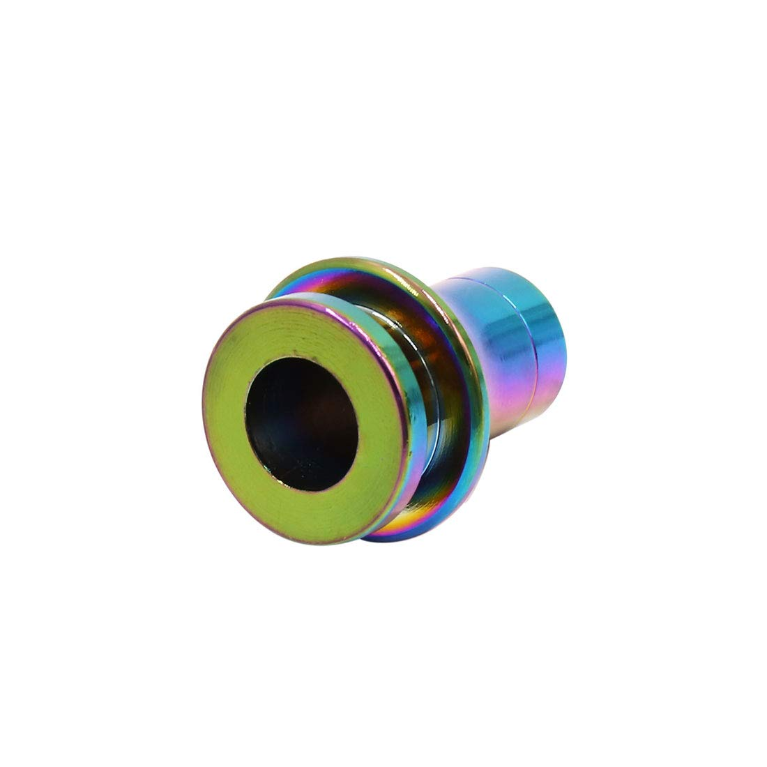 uxcell a18052500ux0432 M10 x 1.25mm Thread Colorful Car Manual Gear Lever Shift Knob Boot Retainer Adapter Unknown