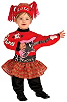 Forum Novelties Baby Boy's Lil' Rock Star Punk Baby Girl Costume