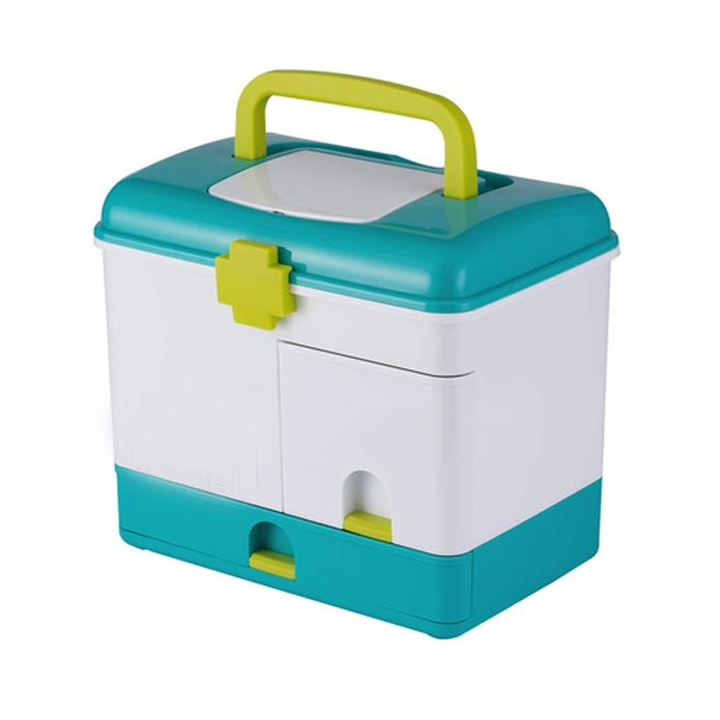 LSXUE Medicine Storage Box Multi-Function Medicine Storage Box Organization Cabinet Medicine Cabinet Family Medical Box Portable Storage Box Drawer Large Capacity