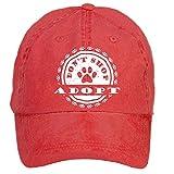 Kettyny Unisex Adopt Dont Shop Dog Poster Design Baseball Cap Hats