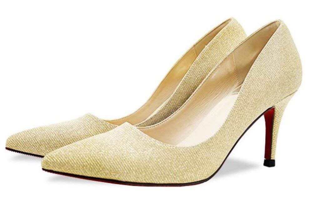 Fuxitoggo Fuxitoggo Fuxitoggo Solo con Le Scarpe. (colore   oro, Dimensione   37) 911a1d