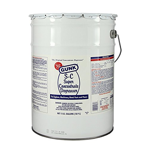 Gunk SC5 Super Concentrate Degreaser - 5 Gallon by Gunk