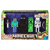 Minecraft Figure 4-pack Hostile Mobs Set