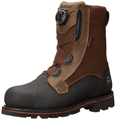- Wolverine Men's W10308 Drillbit-M, Brown 9.5 M US