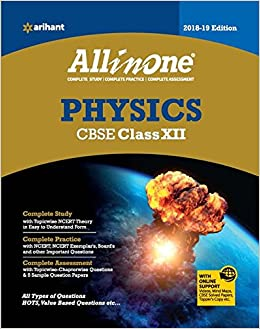 CBSE All in One PHYSICS CBSE Class 12 for 2018 - 19 Old