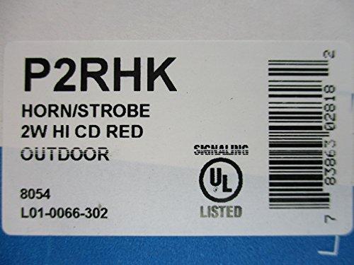 System Sensor P2RHK - Horn-Strobe Hi-Candela Weatherproof