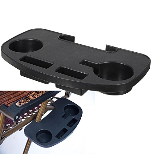 Zero Gravity Lounge Chair Cup Holder Clip On Side Tray Utility Beverage Can New,Nacome (Side Tray Utility)