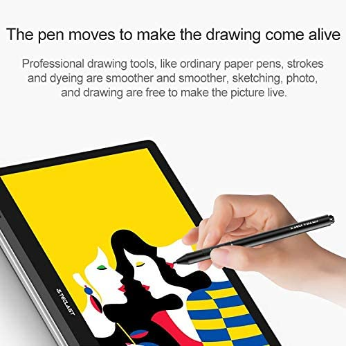 T6S 1024 Levels of Pressure Sensitivity Metal Body Stylus Pen with Auto Sleep Function Durable
