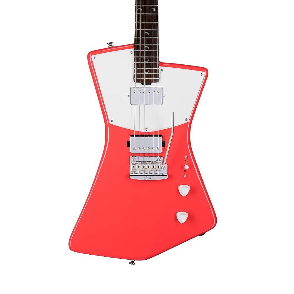 Sterling by Music Man Guitarra eléctrica San Vicente (Fiesta Rojo ...