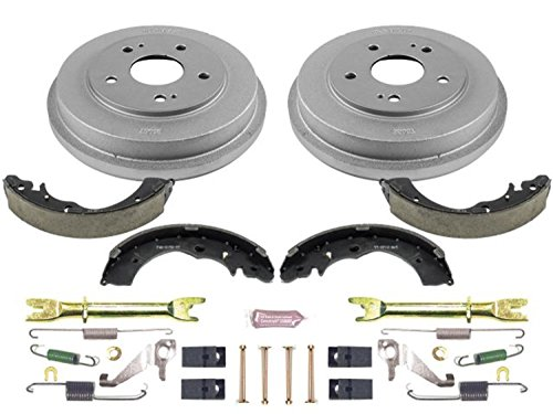 (Power Stop Rear KOE15318DK Daily Driver Drum and Shoe Kits)