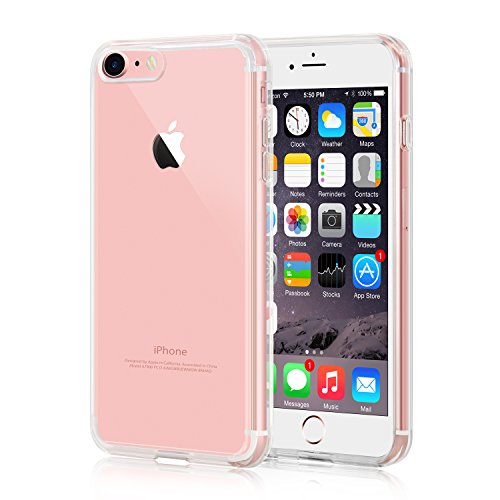 iPhone 7 Case, iXCC Crystal Clear Cover  - Transparent Crystal Shopping Results
