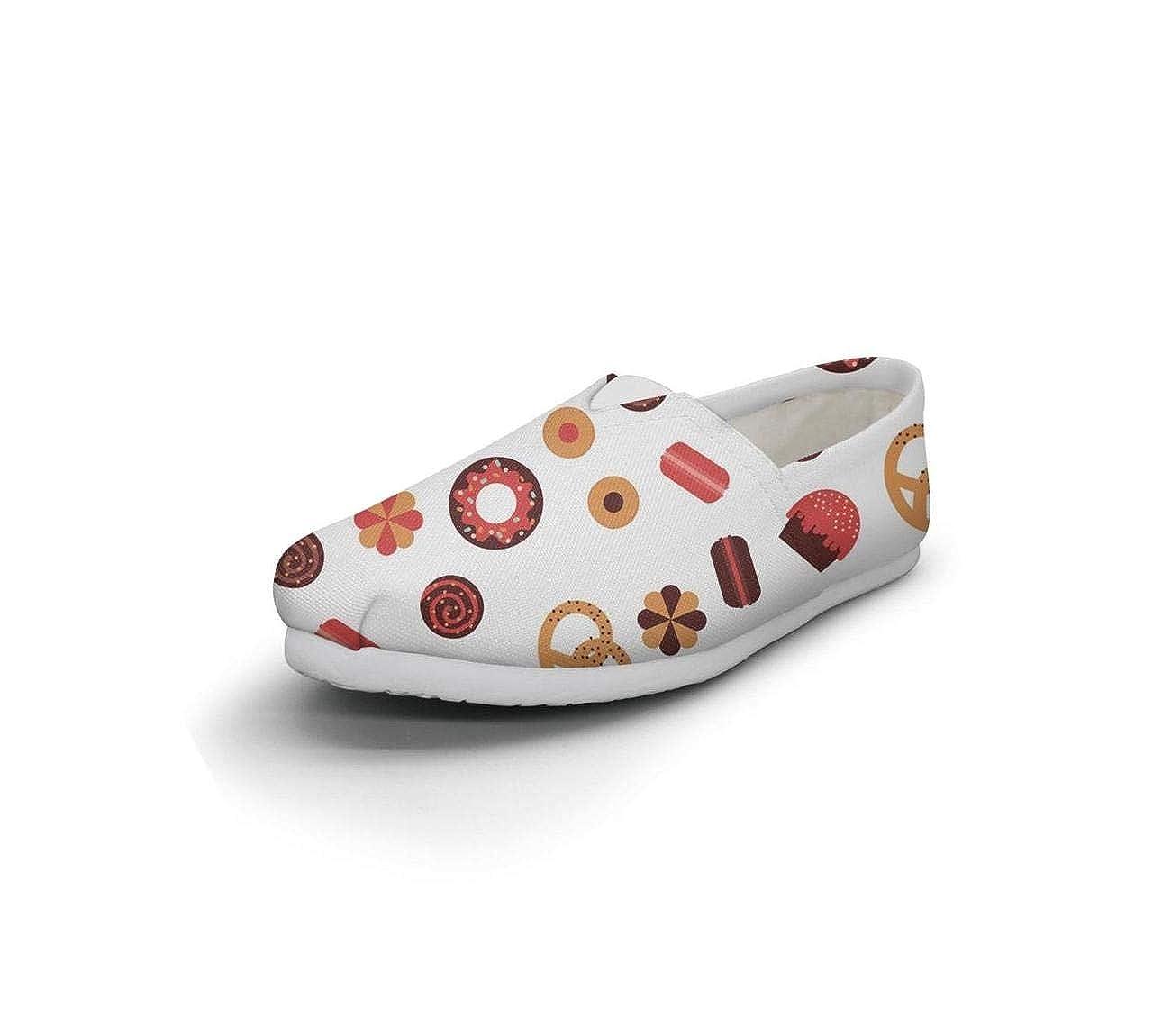 nkfbx Pretzel AMD Coffee Bean Casual Flat Canva Shoes for Girls Exercising