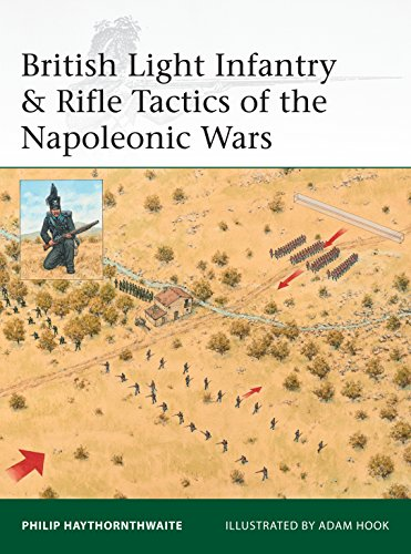 British Light Infantry & Rifle Tactics of the Napoleonic Wars (Elite Book 215) ()