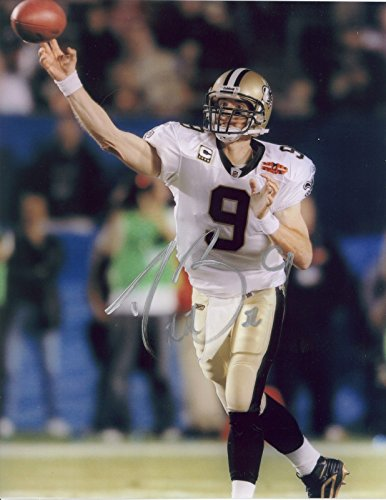 (DREW BREES - Reprint 8x10 inch Photograph - NEW ORLEANS SAINTS FOOTBALL #9)