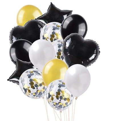 RZRCJ Globos para Fiestas 16 Pulgadas Carta Feliz Cumpleaños ...
