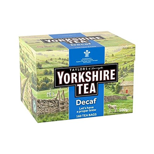 Yorkshire Decaf Teabags 160 per pack by Taylors of Harrogate