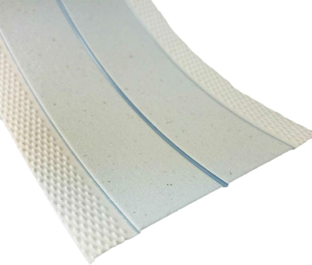Strait-Flex Papierkantenprofil Mid-Flex 300 f/ür Kanten im Trockenbau