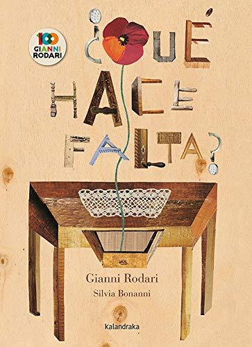 ¿Qué hace falta? - Selección de libros de Gianni Rodari
