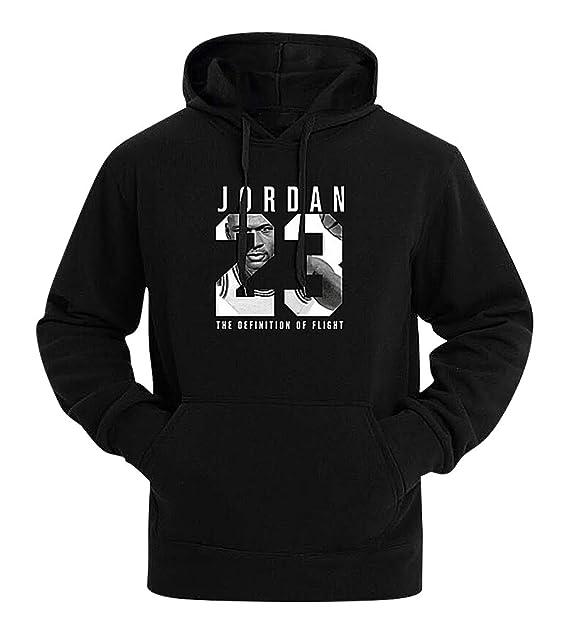 5c3757418d0 Mancave Men Kangaroo Pocket Slim Jordan 23 Printed Full Sleeve Sporty  Hoodie at Amazon Men's Clothing store: