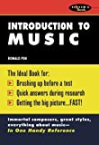 img - for Introduction To Music by Ronald Pen (1991-10-01) book / textbook / text book