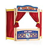 Guidecraft Wooden Tabletop Puppet Theater - Dramatic Play