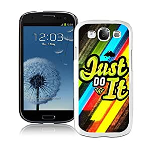 New Antiskid Designed Cover Case For Samsung Galaxy S3 I9300 With Nike 17 White Phone Case