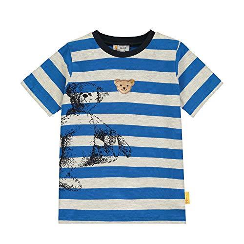 Steiff jongens T-Shirt mit Streifen und Teddybärprint