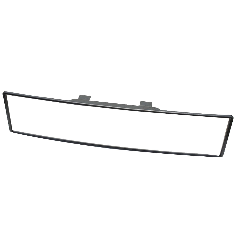 Elisona-300mm Auto Car Curve Wide Convex Clip On Interior Panoramic Rear View Mirror