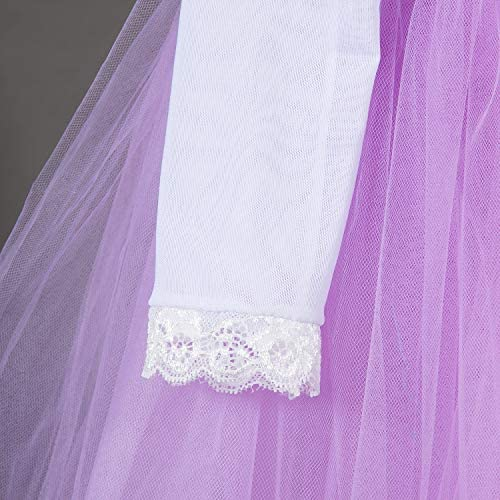zhenlanshangmao Carnaval Nuevo Traje Sofia Princesa Vestido Juego ...