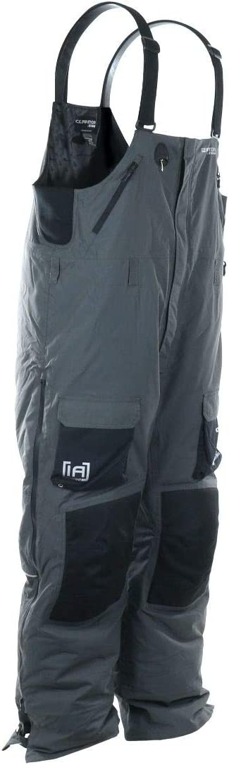 Clam Outdoors IA Ascent Breathable Float Charcoal/Black Bib X-Large: Sports & Outdoors