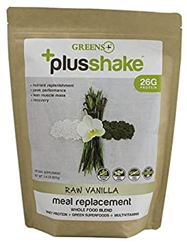 Greens Plus, Whey Plusshake Vanilla Meal, 22.4 Ounce