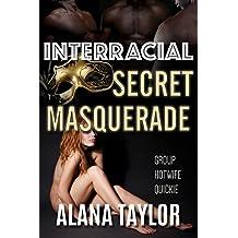 Interracial Secret Masquerade: Group Hotwife Quickie