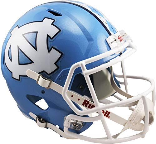 Sports Memorabilia Riddell North Carolina Tar Heels Speed Full-Size Replica Helmet - College Replica Helmets